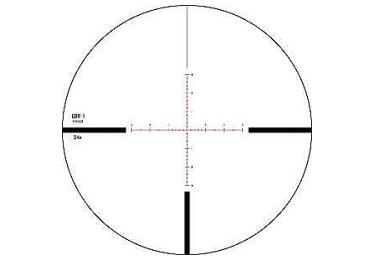 Оптический прицел Vortex Viper PST 6-24x50 FFP (EBR-1 MRAD)