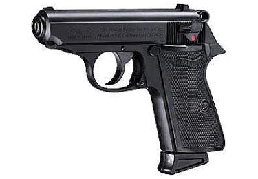 Пневматический пистолет Walther PPK/S черный (Umarex)