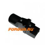 Переходник нескладной для установки регулируемых телескопических прикладов вместо нескладных на АК, Сайга ME400010