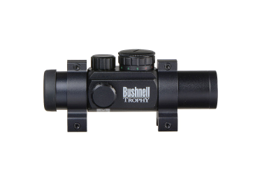 Коллиматорный прицел Bushnell Trophy 1x28 Red Dots с подсветкой сетки (4 Dial-In) 730135