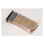 Магазин Pufgun на Сайга-308, 7,62х51, 25 патронов, полимер, прозрачный, возможность укорочения, 180 г