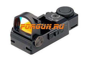 Коллиматорный прицел Hakko FlipUp II складной (4 moa)(крепление для Glock 10 мм, Glock .45)