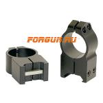 Кольца 25,4 мм на Weaver высота 16 мм Warne Maxima Fixed Extra High, 203M, сталь (черный)
