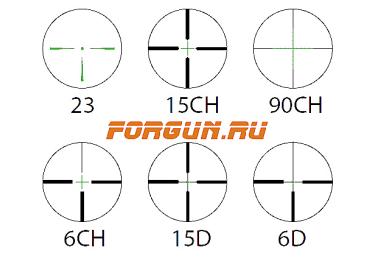 Оптический прицел Hakko 4-12x56 25.4мм Winner WINZ-4-12x50 AO, с мультицветной подсветкой, с отстройкой паралакса