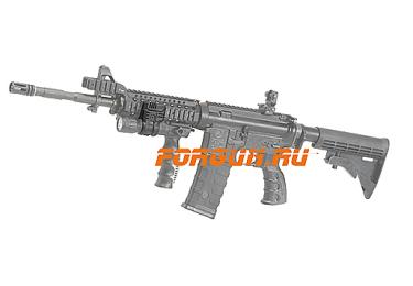 _Крепление для фонаря и ЛЦУ, на Weaver/Picatinny, диаметр 25,4 мм CAA tactical PLS1