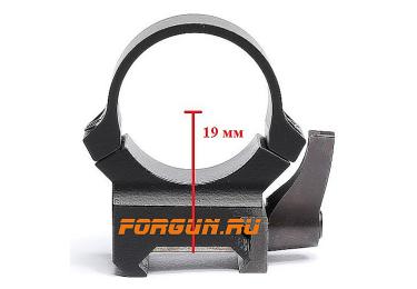 Кольца Leupold QRW (25.4mm) на weaver, низкие, быстросьемные, матовые 49853