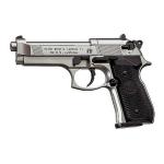 """Пневматический пистолет Beretta M92 FS. Отделка """"никель"""" (Umarex)"""