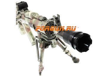 Дульный тормоз компенсатор (ДТК) 7,62/5,45/.223 для Сайга - МК и автоматы АК-74 всех модификаций с резьбой М24х1.5 РЫСЬ РУСИЧ-АК-24