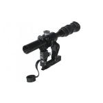 Оптический прицел Беломо ПОСП 4х24В с подсветкой сетки, (для Вепрь/Сайга)
