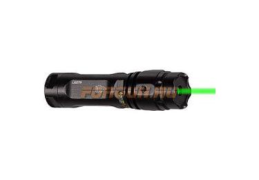 Лазерный целеуказатель Leapers UTG, зеленый, кольцо на Weaver/Picatinny, полноразмерный, SCP-LS279