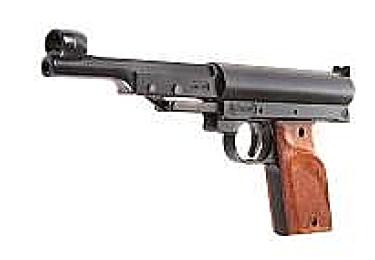 Пневматический пистолет Record LP2 черный (Umarex)
