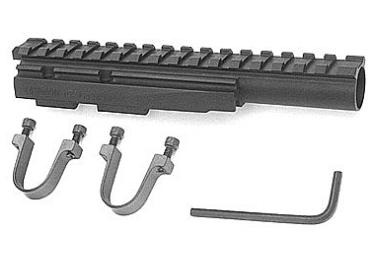 Кронштейн газовая трубка для АК, Сайга, Вепрь 133, 136 Ultimak M1-B (черный)