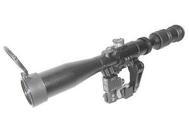 Оптический прицел Беломо ПОСП 4-12x42 Т  (для Тигр/СКС)