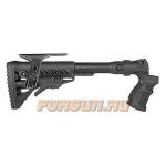 Приклад для Mossberg 500, телескопический, рукоятка, пластик, складной, щека, FAB Defense, FD-AGMF 500 FK CP