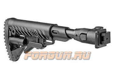 Приклад для АКСУ или АКС-74У складной (вместо складных), телескопический, компенсатор отдачи, FAB Defense, FD-M4-AKS P SB