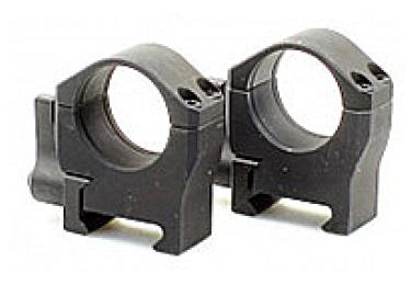 Кольца 25,4 мм на Weaver быстросъемные, высота 12 мм, сталь Luman Precision низкие LP25.4LOW (черный)