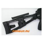 Регулируемый подщечник для рамочных прикладов АК, Сайга, Вепрь Custom-Arms