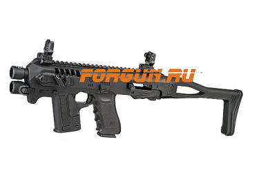 Комплект для модернизации Glock 17/22/23 CAA tactical MIC-RONI17, алюминий/полимер (черный)