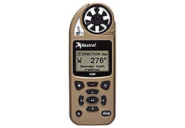 Ветромер Kestrel 5500 TAN (время,скорость ветра,температура воздуха,воды, водонепроницаемый,более 14 различных параметров) 0855TAN