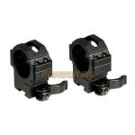 "Кольца Leapers UTG 25,4 мм для установки на ""Ласточкин хвост"", средние, быстросъемные, RQ2D1154"