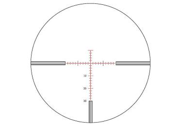 Оптический прицел Nightforce 3.5-15x50 F1 30мм NXS, .250 MOA, с подсветкой (NP-RF1)