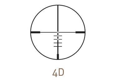 Оптический прицел Kahles C 2.5-10x50 с шиной SR (4D)