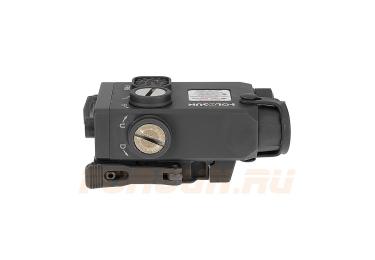 Тактический блок Holosun Dual с красным ЛЦУ и выносной кнопкой, ИК-лазер, быстросъемный на Weaver (LS221R)