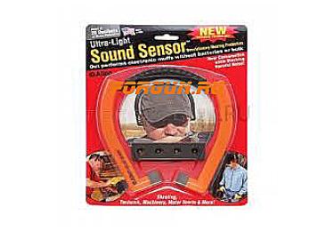 Беруши, ушные вкладыши (на ободе) Allen Sound Sensor Hearing Protection, оранжевый