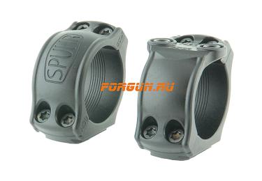 Кольца Spuhr Hunting D30мм H21mm на Blaser, c одним интерфейсом, небыстросьемные, HB30-21
