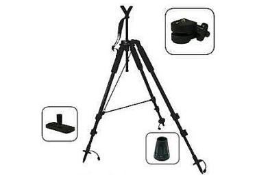 Опора стойка для оружия, 3 ноги, высота 58-170 см, Levellok MP-139R