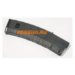 Магазин 5,56x45 мм (.223REM) на 45 патронов для M4/M16/AR15, пластик, Pufgun, Mag AR-15 45-45/B, возможность укорочения