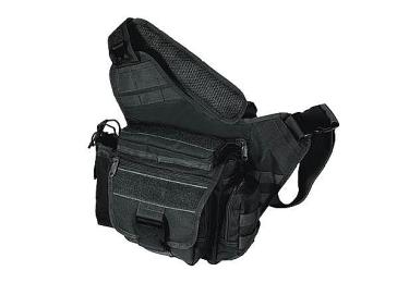 Тактическая сумка, многофункциональная, для карт, бумаг и документов, черный цвет, Leapers UTG, PVC-P218B