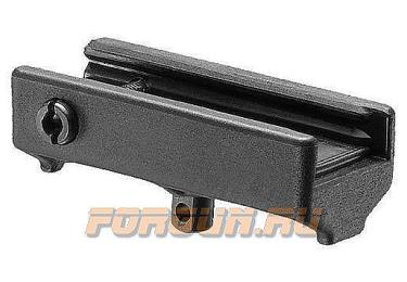 Переходник-адаптер антабка на Weaver/Picatinny, пластик, FAB Defense, FD-HBA-3