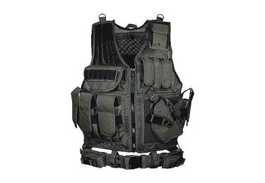 Тактический разгрузочный жилет, черный цвет, Leapers UTG, PVC-V547BT