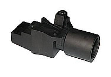 Переходник складной для установки регулируемых телескопических прикладов вместо нескладных на АК, Сайга ME 400007