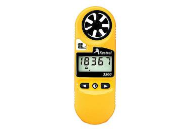 Ветромер Kestrel 3500 (время, скорость ветра, температура воздуха, воды, снега, влажность, точка росы) 0835