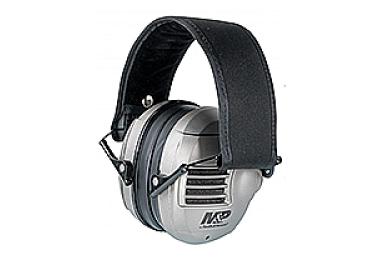 Наушники активные складные 23 дБ S&W M&P Alpha Electronic, серый, 110041