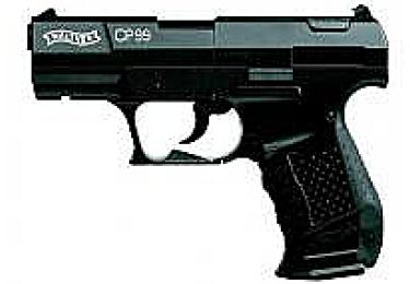 Пневматический пистолет Walther CP99 черный (Umarex)
