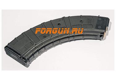 Магазин 7,62x39 мм (.30, .366 ТКМ) на 40 патронов для АК, АКМ, Вепря или Сайги, пластик, Pufgun, Mag SGA762 40-40/B