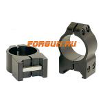 Кольца 25,4 мм на Weaver высота 9 мм Warne Maxima Fixed Medium, 201M, сталь (черный)