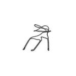 Шнурок на три манка FAULK`S, плетеный, капроновый, TRIP