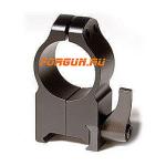 Кольца 25,4 мм на Weaver высота 16 мм Warne Maxima Quick Detach Extra High, 203LM, сталь (черный)