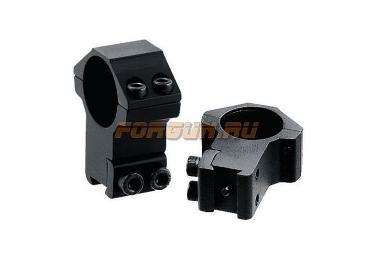 """Кольца Leapers UTG 25,4 мм для установки на """"Ласточкин хвост"""", высокие, не быстросъемные, RGPM-25H4"""