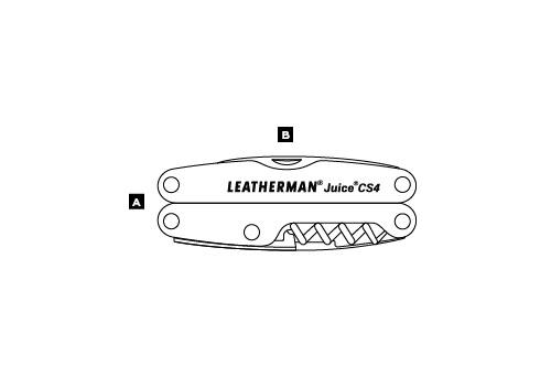 Мультитул LEATHERMAN JUICE CS4 74208001K