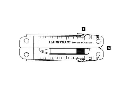 Мультитул LEATHERMAN SUPER TOOL 300 EOD 831367