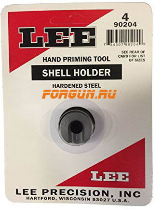 Шеллхолдер для капсюлятора Lee #4 Shell holder, 90204