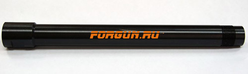 Дульная насадка (0,0) цилиндр 240 мм с резьбой под ДТК для ВПО-205 Вепрь, Сайга 12 кал. Молот